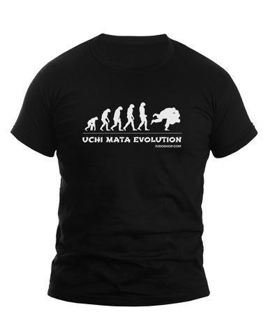 Judo Uchi Mata Evolution Men's Tshirt