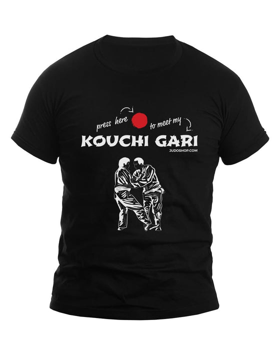Judo T-Shirt Kouchi Gari Press Here - JudoShop.com
