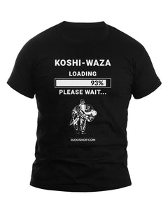 Judo T-Shirt Koshi Waza Progress Bar - JudoShop.com