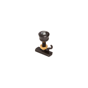 Black on Black Solitaire Fine Tuner String Adjuster