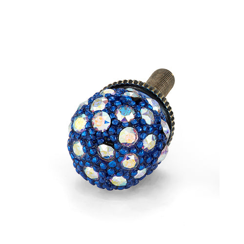 Pavé ball Cello Electric Blue