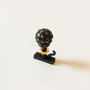 Pavé Ball fine tuner Metallic Black