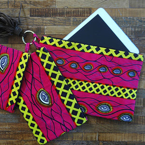 Magenta Pouch Set by Anne Calfo