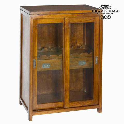 Wine cabinet with 2 drawers - Serious Line Collection by Bravissima Kitchen-Bravissima Kitchen-Clauven.com