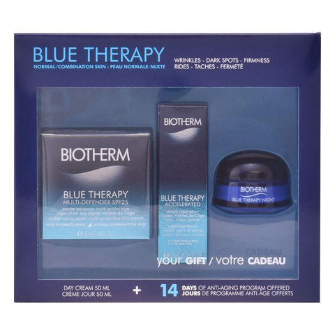 Unisex Cosmetic Set Blue Therapy Multi Defender Biotherm (3 pcs)