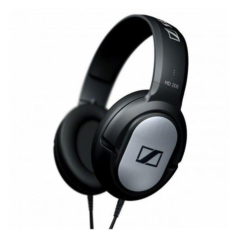 Headphones with Headband Sennheiser HD-206 108 dB Black Silver
