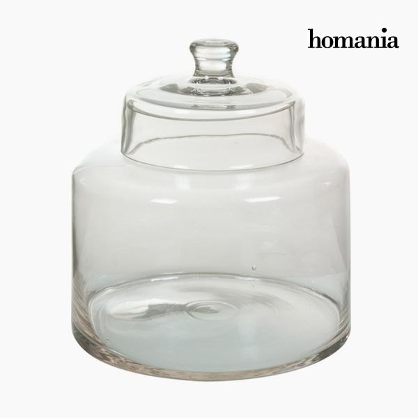 Box with cover Glass by Homania
