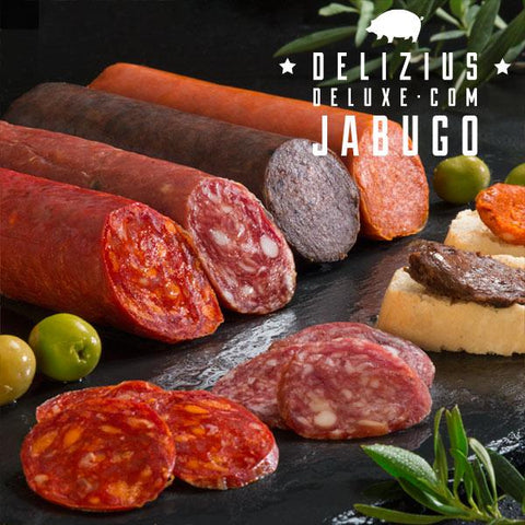 Delizius Deluxe Iberian Sausages 1 kg (Pack of 4)