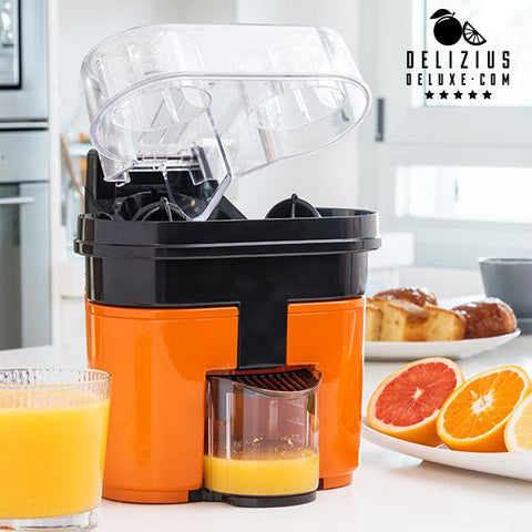 Electric Double Orange Juicer-Delizius Deluxe-Clauven.com
