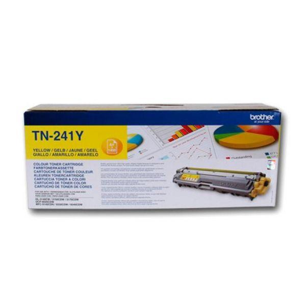 Original Toner Brother TN241Y Yellow - Clauven.com