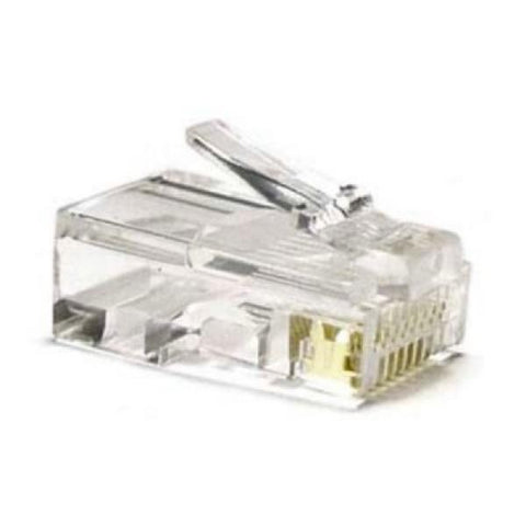 Category 5 UTP RJ45 Connector NANOCABLE 10.21.0102-50 50 pcs-NANOCABLE-Clauven.com