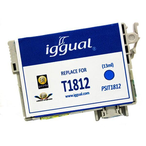 Recycled Ink Cartridge iggual Epson PSIT181340 Magenta-iggual-Clauven.com