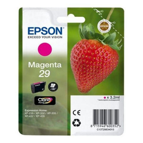 Original Ink Cartridge Epson C13T298340 Magenta-Epson-Clauven.com