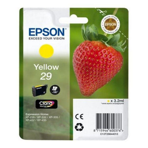 Original Ink Cartridge Epson C13T298440 Yellow-Epson-Clauven.com