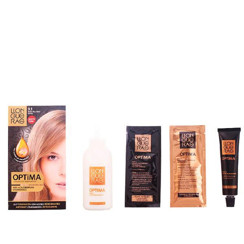 Llongueras - LLONGUERAS OPTIMA hair colour 9.1-very light blond cendre-Llongueras-Clauven.com