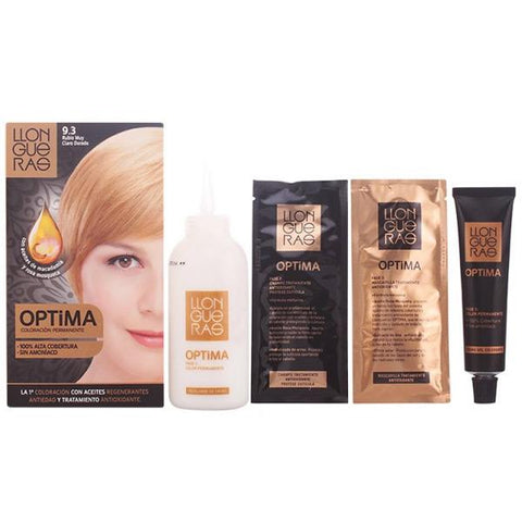 Llongueras - LLONGUERAS OPTIMA hair colour 9.3-very light blond golden-Llongueras-Clauven.com