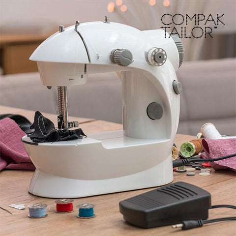 Compak Tailor 220/110 Portable Sewing Machine-Omnidomo-Clauven.com