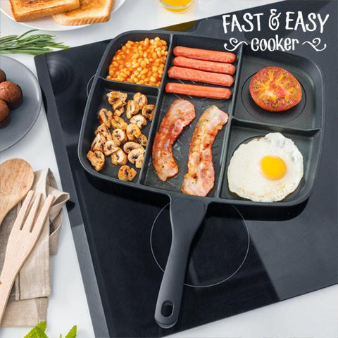 Fast & Easy Cooker 5 in 1 Non-Stick Pan