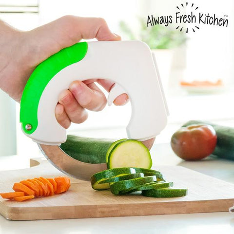Circular Chop & Roll Knife-Always Fresh Kitchen-Clauven.com