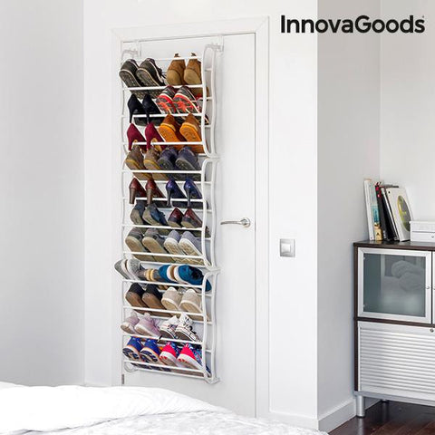 InnovaGoods Door Shoe Rack (36 Pairs)