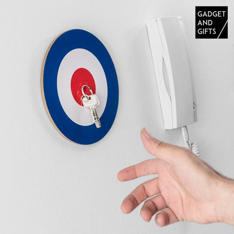 Gadget and Gifts Bullseye Magnetic Key Hanger