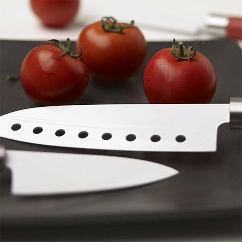 Santoku Knives with Ceramic Cladding (set of 4)-Bravissima Kitchen-Clauven.com