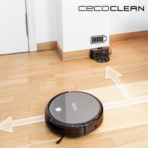 Robot Vacuum Cleaner With Mop And Water Tank Cecoclean Excellence 5042 03 L 64