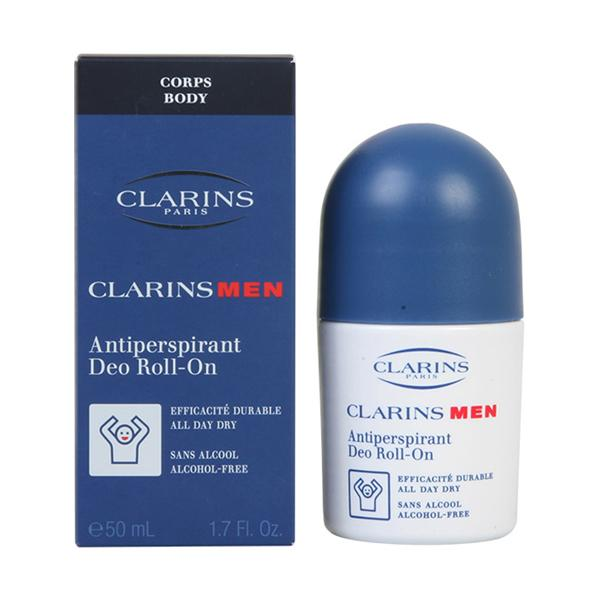Clarins - MEN antiperspirant deo roll-on 50 ml-Clarins-Clauven.com