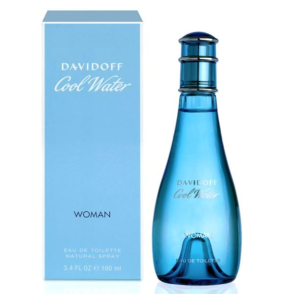 Davidoff - COOL WATER WOMAN edt vapo 100 ml-Davidoff-Clauven.com