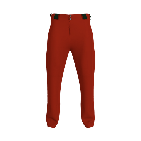 Baseball/Softball Pant Without Side Inserts 6110 Mens Baseball Softball Pant No Inserts. (x 1)
