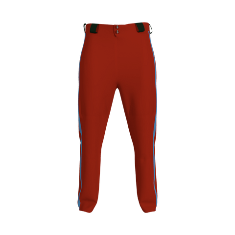 Baseball/Softball Pant with Side Inserts 6112 Mens Baseball Softball Pant With Inserts. (x 6)