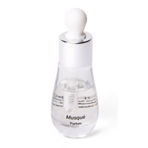 Perfume Musqué in its stylish bottle with dropper by Parfumique