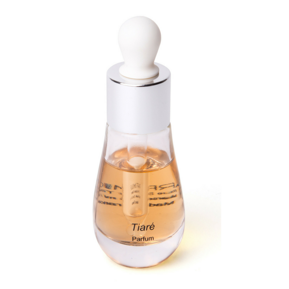 Perfume Tiaré in its stylish bottle with dropper by Parfumique