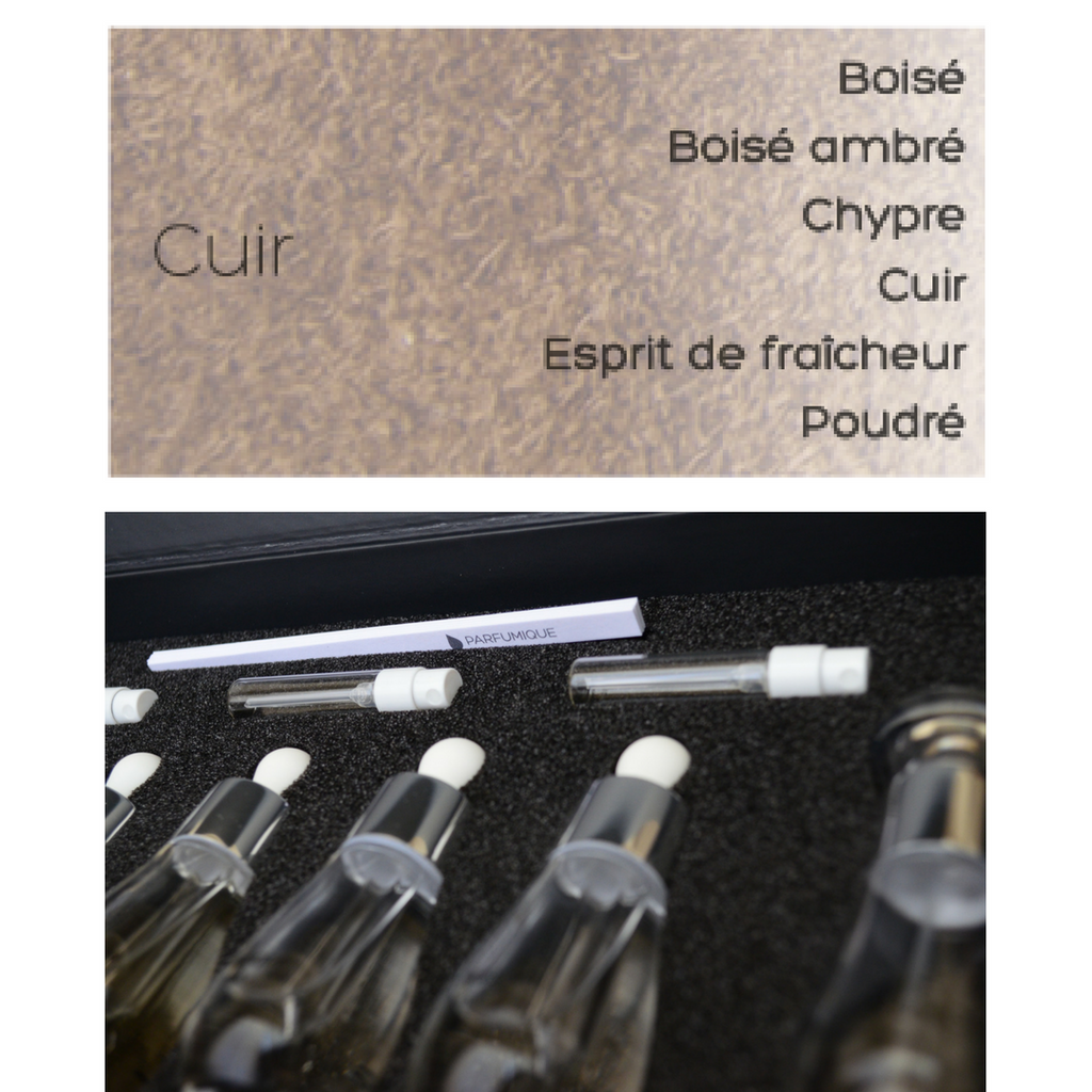 perfume creation kit - cuir