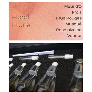 perfume creation kit - floral fruité