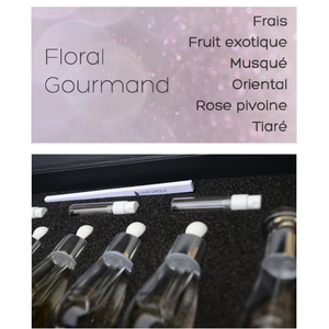 perfume creation kit - floral gourmand