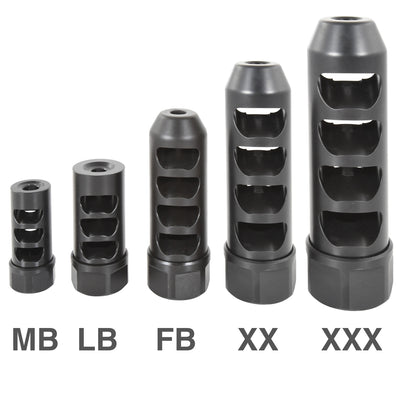 Gen 2 Little Bastard Self Timing Muzzle Brake