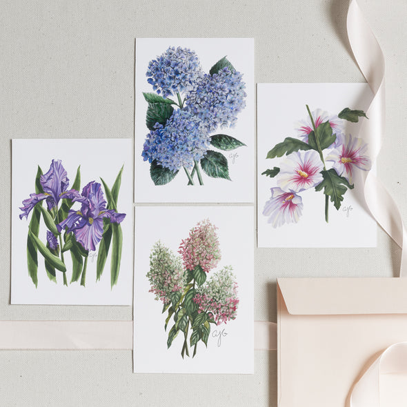 THE CLASSICS Botanical Greeting Card Set of 6