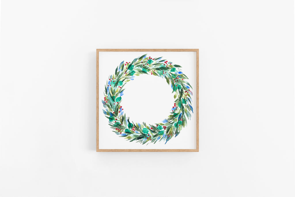 Holiday Wreath : A Thrill of Hope