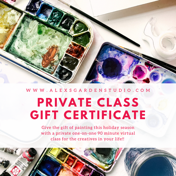 Private Class Gift Certificate {VIRTUAL}