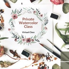 Private Lesson : Introduction to Watercolors