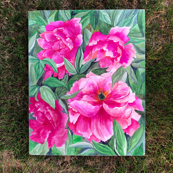 The Peony Bush {UPDATED}