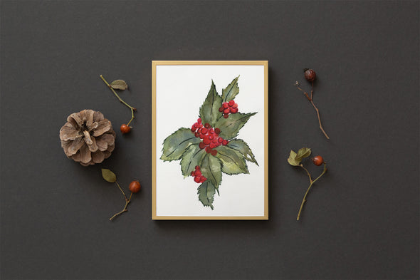 Holly Berries : A Thrill of Hope