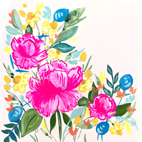 Gilded Peonies