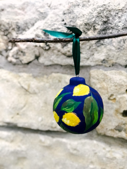 2020 Christmas Ornament : When Life Gives You Lemons