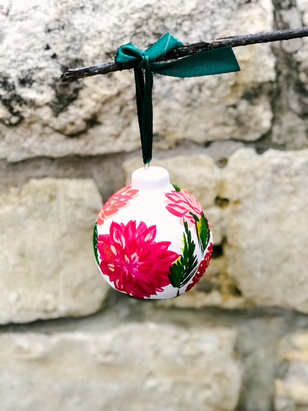 2020 Christmas Ornament : Hello Dahlia-ing ;)