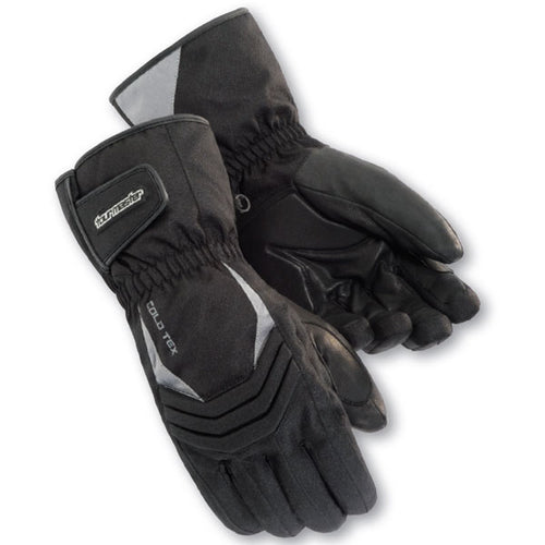 Tourmaster Cold-Tex 2.0 Motorcycle Gloves -  Black, Medium, XXL