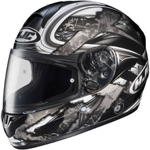 HJC CL-16 Shock MC5 Motorcycle Helmet - Black and Gray, Medium