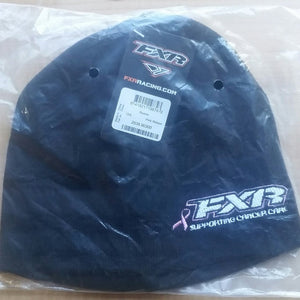 FXR Mountain Women's Black and Pink Ribbon Breast Cancer Awareness Beanie