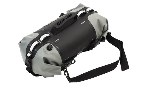 Giant Loop Rogue Dry Bag, Gray, Waterproof, Storage, Motorcycle or Camping